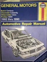 Haynes GM Buick Century Celebrity Ciera Cutlass Pontiac 6000 1982-90 Manual #829 - $4.94