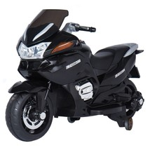 NEW! Kids' Bikes & Riding Toys Ride On Toys 12V Motorcycle Black  - $274.43