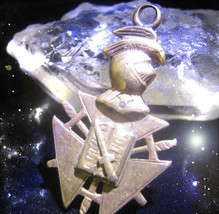 HAUNTED ANTIQUE NECKLACE MASTER CIRCLES SEE SIGNS ARE EVERYWHERE OOAK  MAGICK - $7,807.77