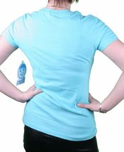 Neff Girls Womens NEFFSICLE Popsicle Ice Cream Tahiti Blue or Black T-Shirt NWT image 7