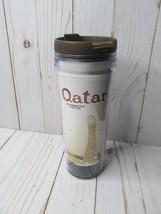 AA Starbucks Qatar Tumbler Travel Mug Cup 12 oz - $24.74