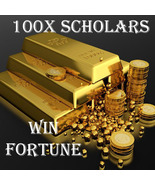 100X 7 SCHOLARS WIN FORTUNE SUCCESS HIGHER EXTREME MAGICK RING PENDANT - $99.77