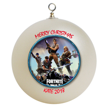 Personalized Fortnite Christmas Ornament Gift - $16.95