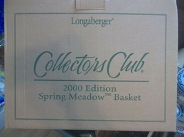 Longaberger Collectors Club 2000 Edition Spring Meadow Basket Liner's & ... - $58.04