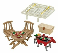 Sylvanian Families Room Set thrilled BBQ & carrier set cell -177 - $40.98
