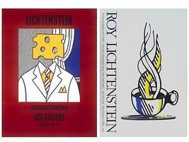 Bundle- 2 Assorted Roy Lichtenstein Oversized Posters - $742.00