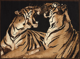 United Weavers Legends Double Tigers Multi Area Rug 5'3'' x 7'2'' - $69.00