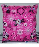 Minnie Mouse Pillow Spring Minnie Pillow New HANDMADE In USA  ,Travel , ... - $9.99