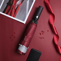 Large Reverse Umbrella Automatic Open/Close Folding Compact Travel Long ... - $23.12