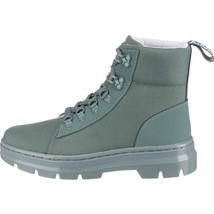 Dr. Martens Combs Womens Poly Casual Boots Tech Utility Teal Blue Shoes ... - $149.99