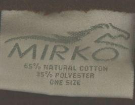 Mirko Thigh Length Waffle Weave Kimono Robe One Size Chocolate Brown image 4
