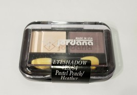 NEW Jordana eye shadow #ES/34 Pastel Peach/Heather **FREE SHIPPING** - $9.75