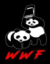 WWF Pandas World Wrestling Federation Funny Image Men Tank Tops - $19.80