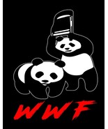WWF Pandas World Wrestling Federation Funny Image Men Tank Tops - $19.80+