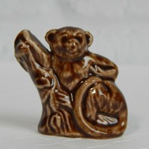 Wade Whimsies Figurine Brown Langur American Series #2 Red Rose Tea England - $4.99