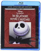 Disney Tim Burton's Nightmare Before Christmas Anniversary Edition [Blu-ray+DVD]