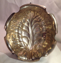 Vintage Silverplate Cabbage Leaf Bowl - $24.70