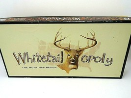 Whitetail-Opoly Monopoly Board Game - Deer Hunting Theme - $27.95