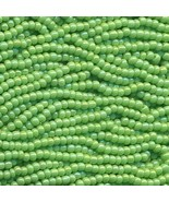 11/0 Seed Bead Rocaille Full Hank Green 14 - $11.95