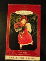 Rose Angel Collector Series Hallmark Keepsake Christmas Ornament w/ Box NOS - $14.95