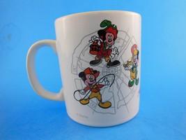 Vintage Mickey Mouse Disneyland Parks Adventures Mug  - $8.90