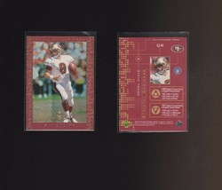 1999 Upper Deck MVP Strictly Business #SB4 Steve Young San Francisco 49ers - $1.00