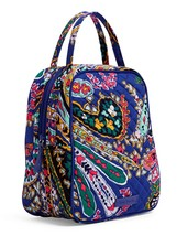 Vera Bradley Quilted Signature Cotton Iconic Lunch Bunch Bag, Romantic Paisley
