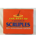 A Question of Scruples 1994 Board Game 10TH Anniversary Edition Complete - $21.66