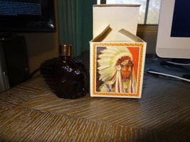 AVON 1972  INDIAN  CHIEFTAIN  AVON  SPCY  AFTER  SHAVE VINTAGE COLLECTIBLE - $17.99