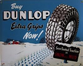 Dunlap Tires Metal Sign ( discontinued ) - $29.95