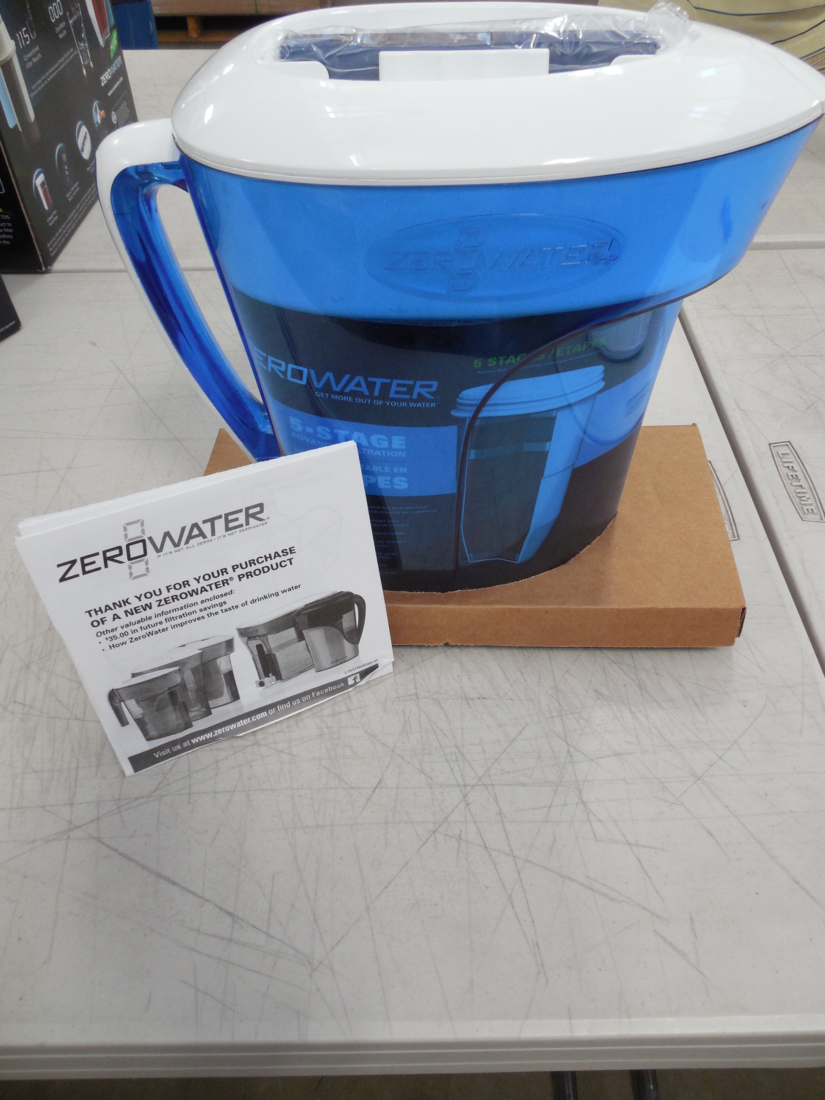 ZeroWater 10 Cup Pitcher with Free TDS Meter and similar items