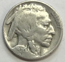 1930 BUFFALO NICKEL  GREAT COIN  FINE CONDITION     #215 - $3.56