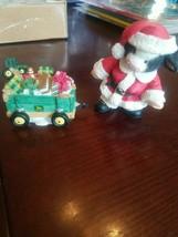 John Deere Carriage And Cow Figurine - $29.58