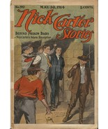 Nick Carter Stories #90 1914 Pulp Magazine Authentic - $37.18
