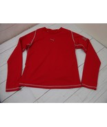Puma Boys/Girls Red Size S 100% Polyester Long Sleeve Shirt  A2072 - $8.41