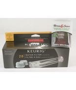 Keurig Water Filter Starter Kit 2.0 Plus Brew & Save Reusable K-Cup Filter - $22.00
