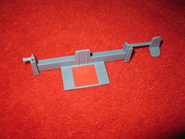 1993 - 13 Dead End Drive Board Game Piece: Part 'D' Fireplace Flipper - $3.00