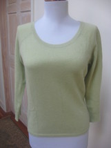 Vguc - Ann Taylor Heather Red 100% Cashmere V-Neck Sweater - Size S - $29.69