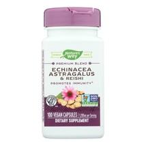 Nature's Way - Echinacea Astragalus and Reishi - 100 Capsules - $12.99