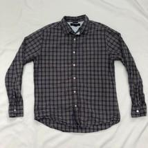 Tommy Hilfiger Men's Medium Purple Button Down Long Sleeve Shirt  - $10.87