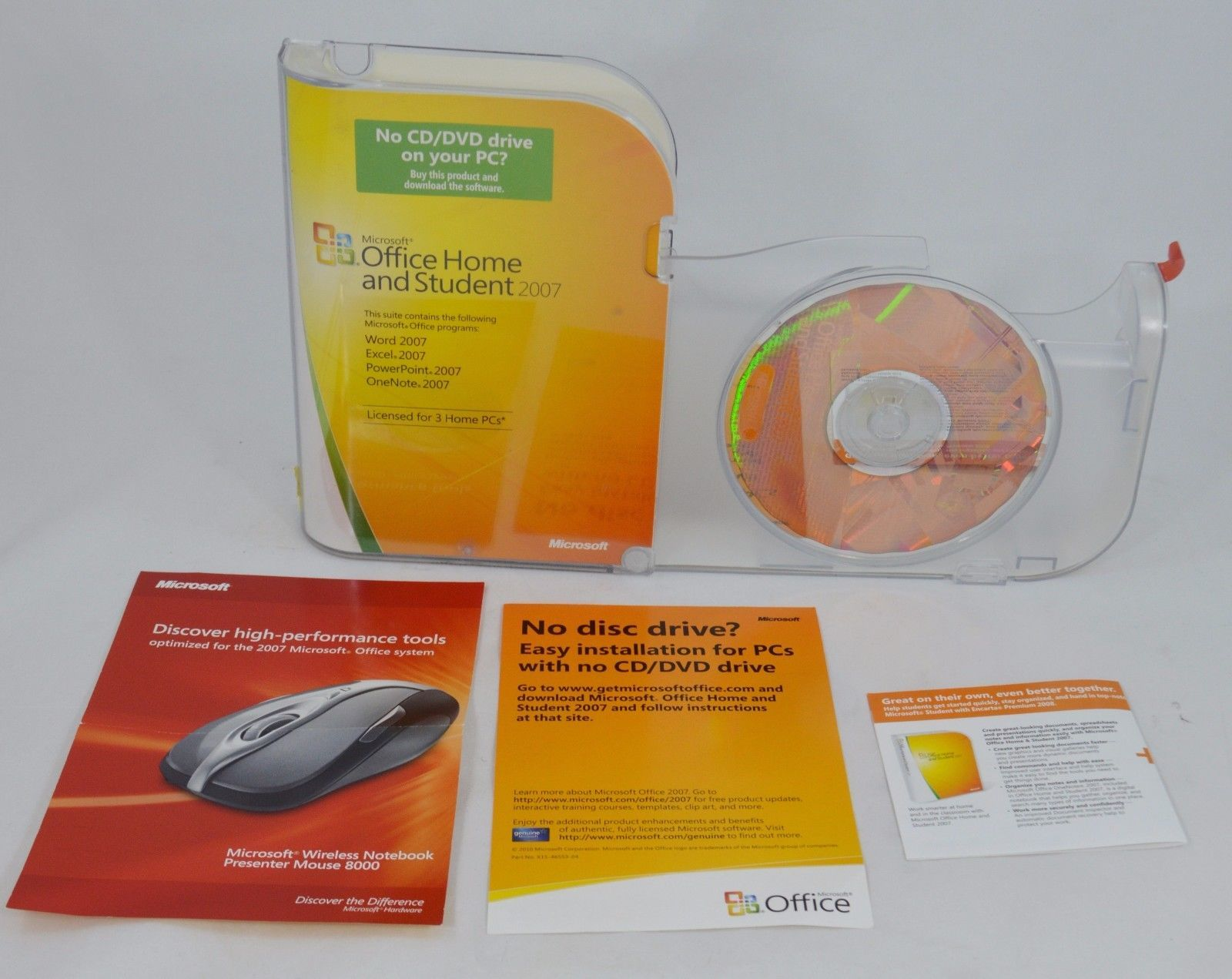Microsoft Office Home and Student 2007 and 37 similar items