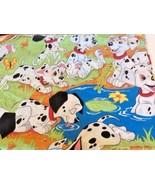 """Twin flat sheet Disney 101 Dalmations fits mattress 39"""" X 75"""" Very good ... - $10.35"""