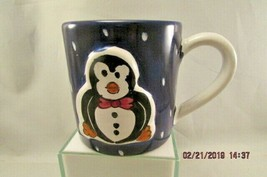 STARBUCKS Child's Mug made in Italy  Black Bird Tuxedo mug  - $10.39