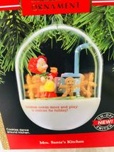 1990 Mrs Santas Kitchen Magic Hallmark Christmas Tree Ornament Box w Price Tag image 3