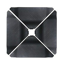Abba Patio Cantilever Offset Umbrella Base Plate Set, Pack of 4, Black - $73.77