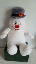 "18"" PLUSH FROSTY THE SNOWMAN CHRISTMAS DOLL TOY,ELECTRONIC,BUILD A BEAR ... - $9.89"