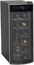 Thermoelectric Wine Cooler Wine Cellar Counter Top 12 Bottle EWC1201 Ava... - $148.93