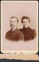 Albert N. Gooder & Wife Ada Estee Gooder Cabinet Photo - Burlington, WI - $19.75