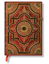 "Paperblanks ""Ventaglio Rosso"" Hardcover Sketch Journal, Blank/Unlined Pa... - $29.95"
