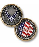 NEW USAF U.S. Air Force Veteran Challenge Coin. - $14.99